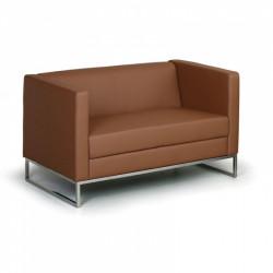 Sofa CUB dvoumístné hnědé
