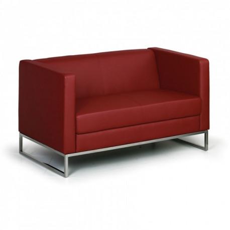 Sofa CUB dvoumístné červené