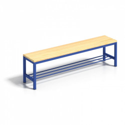 Šatní lavička s roštem - 100 cm
