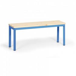 Šatní lavička, modrá - 100 cm