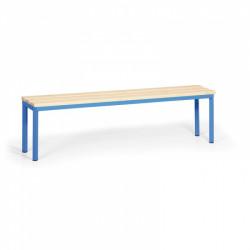 Šatní lavička, modrá - 150 cm