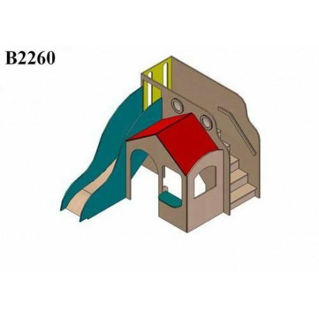 Hrad COLOR, s bočními schody