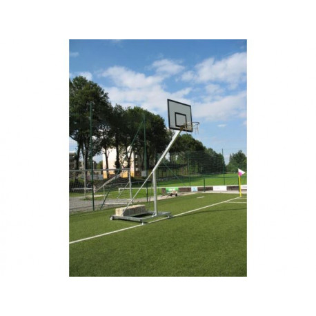 Basketbalová streetball konstrukce, exteriér