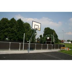 Streetball konstrukce s pouzdrem, exteriér
