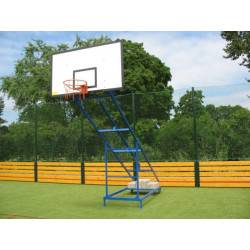 Basketbalová deska do interiéru 180x105 cm, překližka