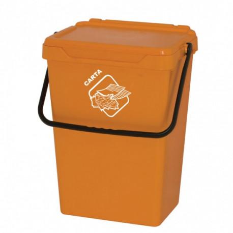 Koš na tříděný odpad TUTO, 35l, žlutý
