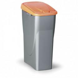 Nádoba na tříděný odpad FALKO 25l, oranžová