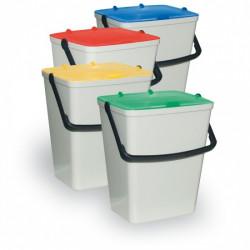 Sada plastových odpadkových košů 4x15 l