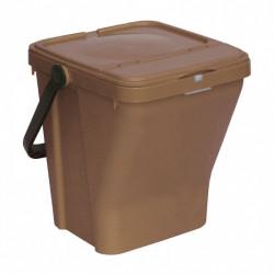 Nádoba na třídění odpadu GÁBA, 35 l, hnědá