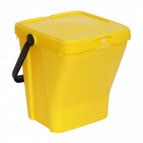 Nádoba na třídění odpadu GÁBA, 35 l, modrá
