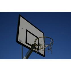 Pevný basketbalový koš - s přiavařenou síťkou, zinek