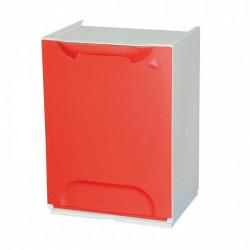Nádoba na třídění odpadu FANDA, červená