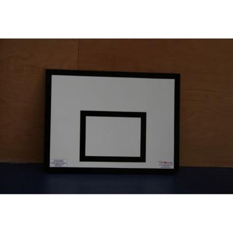 Cvičná basketbalová deska 120 x 90 cm, překližka, interiér