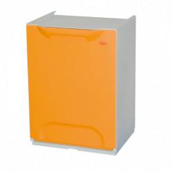 Nádoba na třídění odpadu FANDA, oranžovo - žlutá