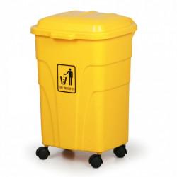 Mobilní nádoba na tříděný odpad E 70l, žlutá