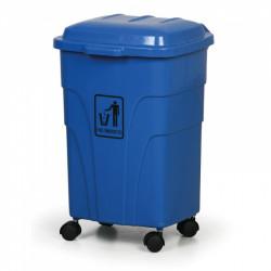 Mobilní nádoba na tříděný odpad E 70l, modrá