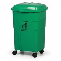 Mobilní nádoba na tříděný odpad E 70l, zelená