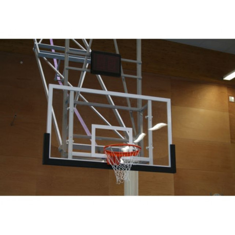 Basketbalová deska 120 x 90 cm, překližka, exteriér