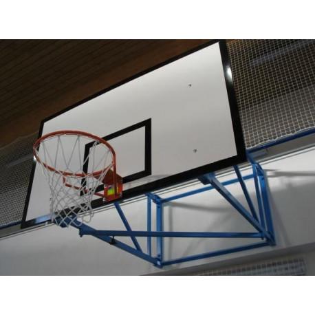 Pevná basketbalová konstrukce - vysazení 1,8m, interiér