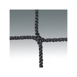 Florbalová síť 160 x 115 cm - polyamid, 2 mm, oko 40 mm, černá