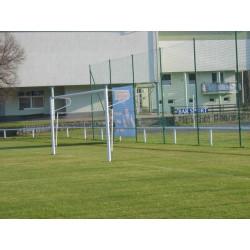Rozkládací fotbalová branka 7,32x2,44m - ocelová (komaxit), do pouzder