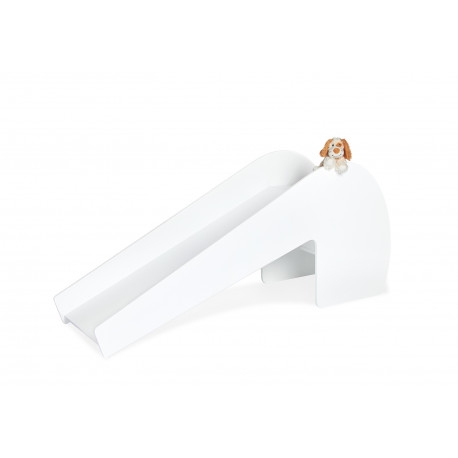 Skluzavka SLŮNĚ - šedá/ bílá, interiér