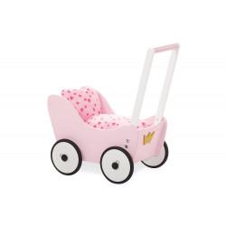 Dětský kočárek - růžový