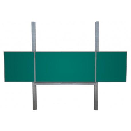 Keramická tabule TRIPTYCH, na pylonech, zelená