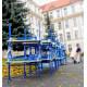Školní žákovská lavice YGNÁC dvoumístná, stavitelná