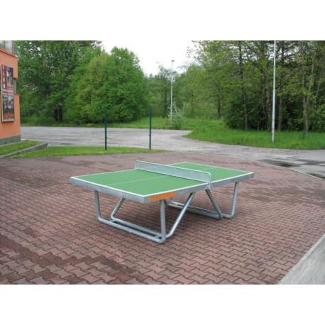Pinpongový stůl - beton, kovové nohy, bez síťky