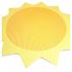 Pěnová samolepicí dekorace - sluníčko 64 cm