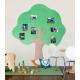 Pěnová samolepicí nástěnka - strom 210 cm