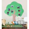 Pěnová samolepicí nástěnka - strom 1576 mm