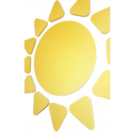Pěnová samolepicí nástěnka- sluníčko malé