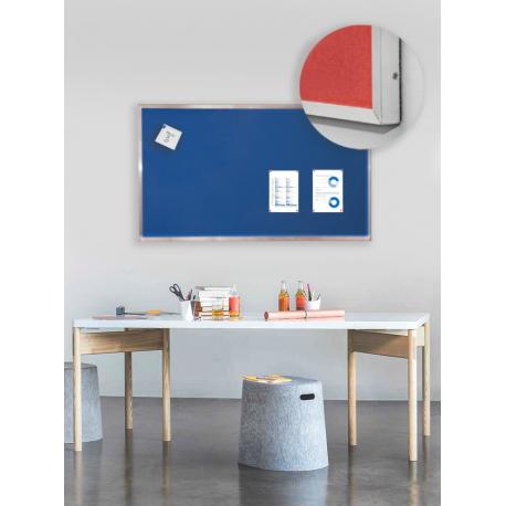 Pěnová nástěnka s Al rámem -100x50 cm