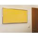Pěnová nástěnka s Al rámem -200x100 cm