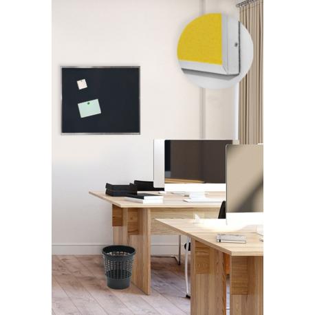 Pěnová nástěnka s Al rámem -100x100 cm