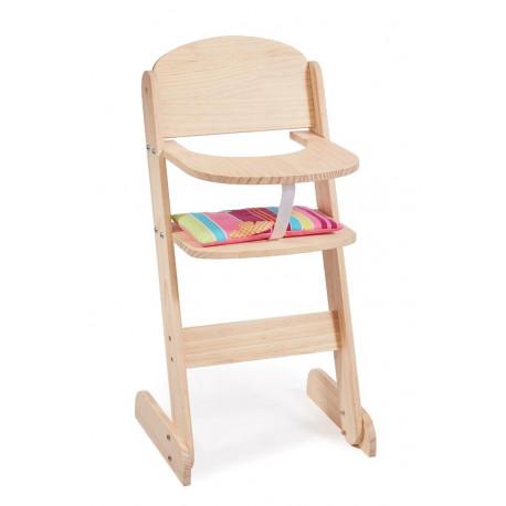 Jídelní židlička pro panenky LADA