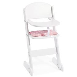 Jídelní židlička pro panenky HANA