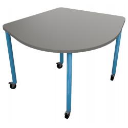 školní nábytek pro variabilní učebny - stůl TRIO
