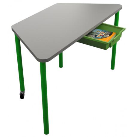 školní nábytek pro variabilní učebny - stůl TRAPO
