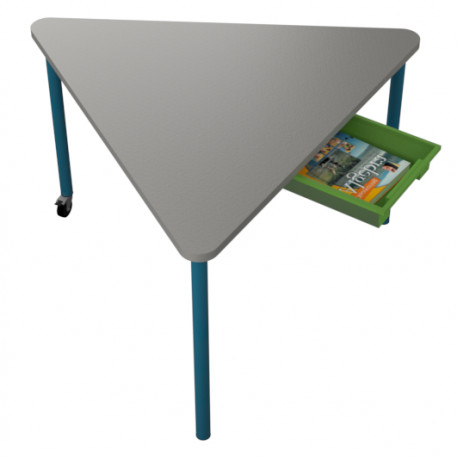 školní nábytek pro variabilní učebny - stůl TRIANGL