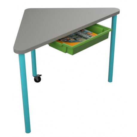 školní nábytek pro variabilní učebny - stůl NACHO