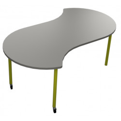 školní nábytek pro variabilní učebny - stůl AQUA