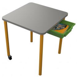 školní nábytek pro variabilní učebny - stůl UNO