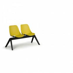 Moderní lavice SHELL, 2x sedák