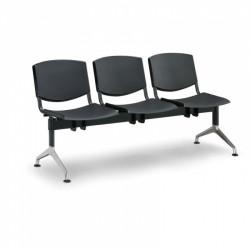 Moderní lavice SLIME, 3x sedák