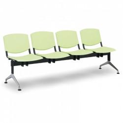 Moderní lavice SLIME, 4x sedák