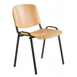 Jednací židle TARO, dřevěná