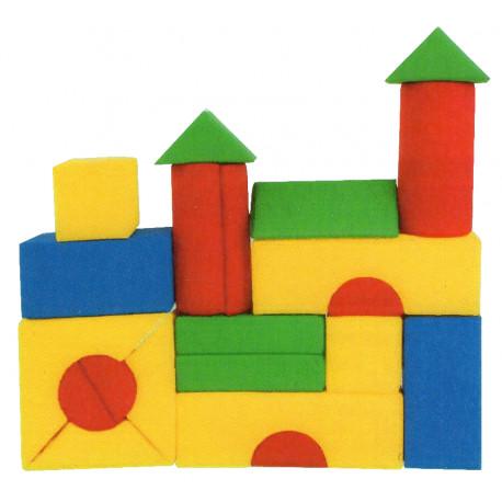 Molitanová stavebnice, 21 dílů, kortexin